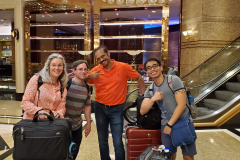 WT Buffs Abroad - Pamela Gipson, Shawn Beinlich, Sachindra Gangupantula, and John Capua